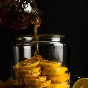 Medus - citronu dzēriens